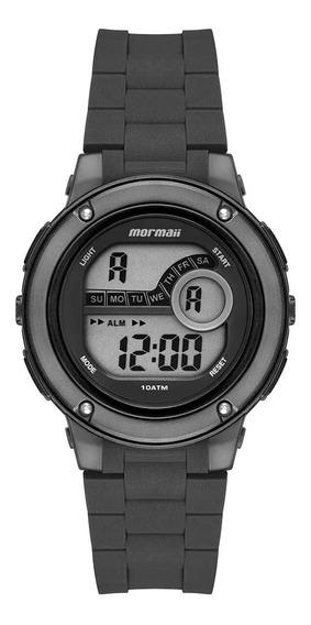 Relógio Digital Masculino Preto E Grafite Mormaii Esportivo