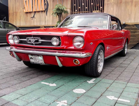 Clásico Ford Mustang 289 Convertible, 1965