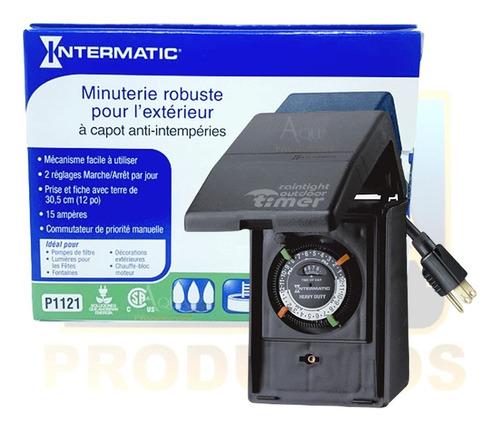 Imagen 1 de 2 de Reloj Timer Intermatic 110 Volts 15 Amperes Ideal Piscinas