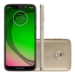 Celular Motorola Moto G7 Play 32gb 4g 13mp - Ouro
