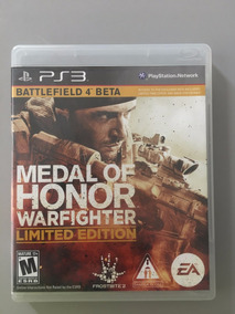Medal Of Honor Warfighter Limited Edition Blu-ray Ps3