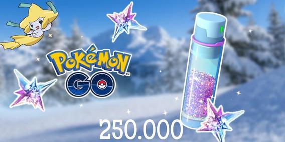 Stardust Pokemon Go 250.000 - Poeira Estelar