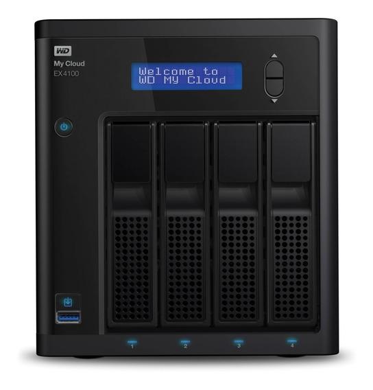 Servidor Nas Storage Wd My Cloud Ex4100 4 Bay S/hd Cap. 24tb