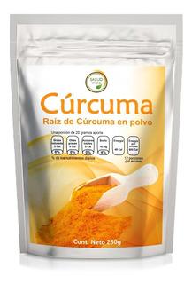Curcuma De La India Premium En Polvo 250 Gramos
