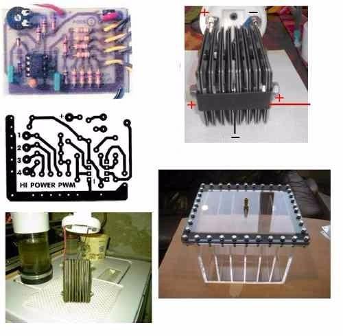 Gerador De Hidrogenio + Projetos