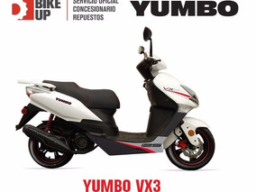 Scooters Yumbo Baccio Motomel - Empadrona Gratis - Bike Up