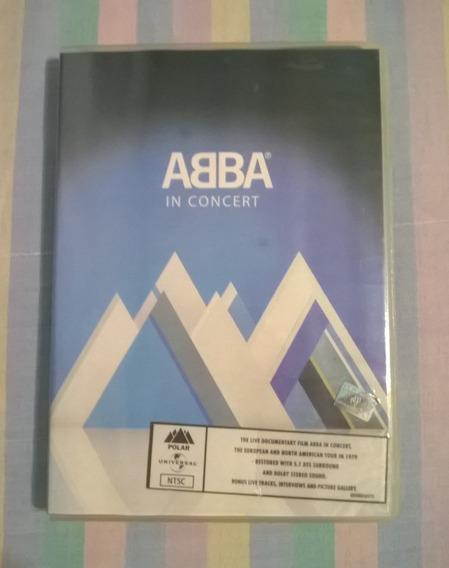 Abba - In Concert (dvd Nacional)