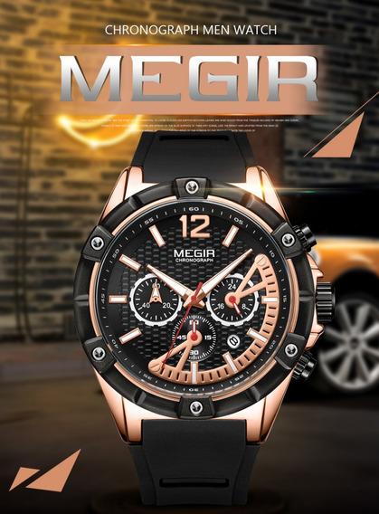 Relógio Masculino Megir Original Pronta Entrega Modelo 2083