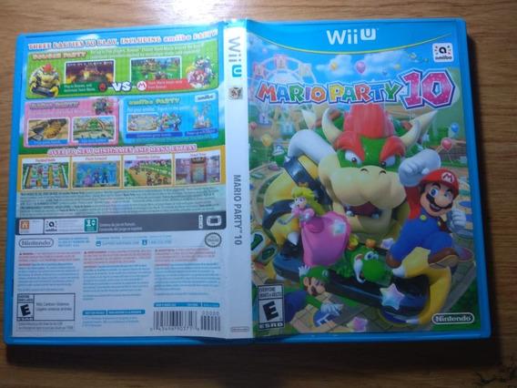 Mario Party 10 Wiiu. Mídia Física. Perfeito Estado!!!