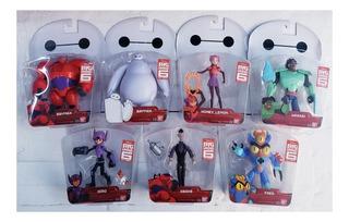 Oferta De 7 Figuras Baymax Serie Big Hero Marca Bandai !!
