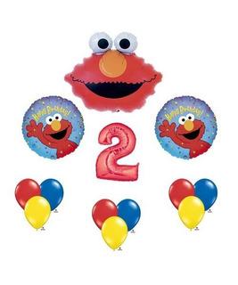 Elmo Sesame Street # 2 2nd Second Birthday Party Globo De