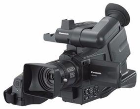 Filmadora Panasonic Funcionando Original Com Case Barato D+
