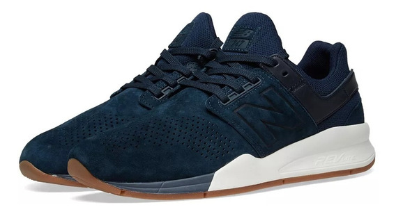 Tênis New Balance 247 Lux Dark Blue Nb Masculino Ms247lt