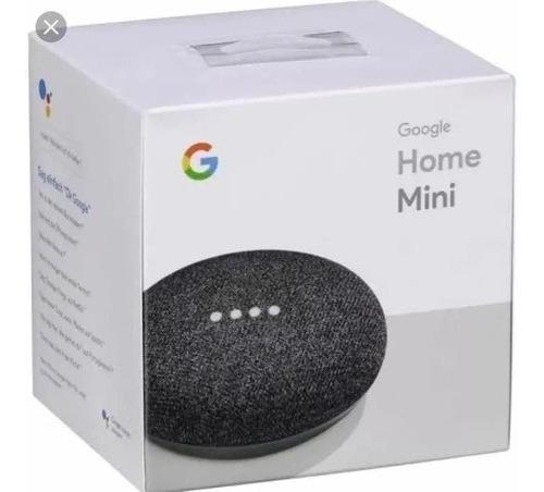Caixa De Som Speaker Google Home Mini 2019 Português - Preta