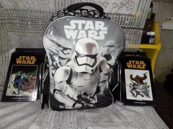 Mochila Y Libros Original Star Wars
