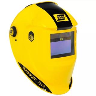 Máscara De Solda Automática Warrior Tech Amarela 731281 Esab