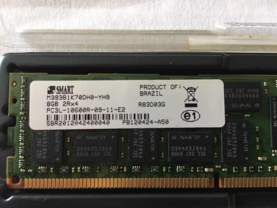 Memória 8g 2rx4 Pc3l-10600r Hp