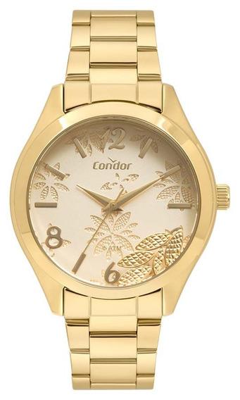 Relógio Condor Feminino Co2036kvh/4d Dourado Analogico