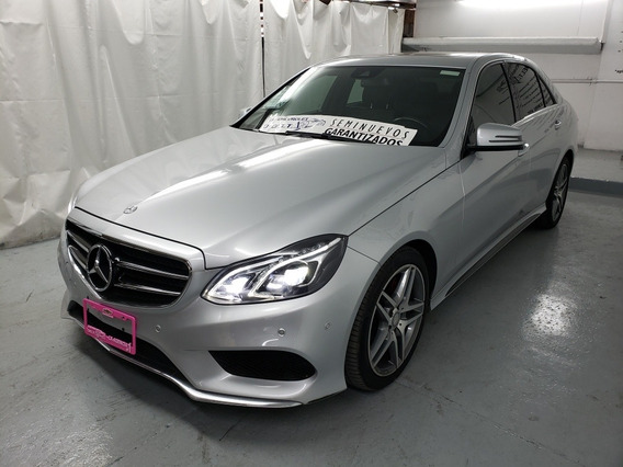 Mercedes-benz Clase E 3.0 400 4mic Exclusive At 2016