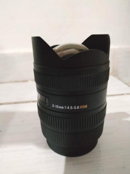 Lente Sigma 8-16mm