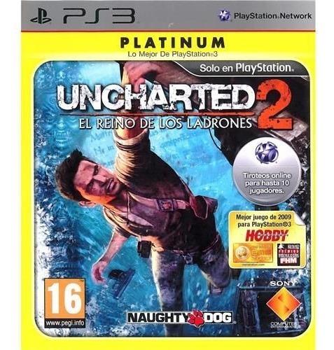 Jogo Uncharted 2 Among Thieves Platinum - Ps3 Usado