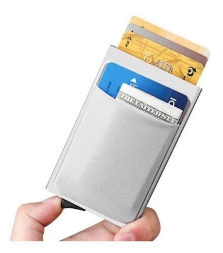 Smart Wallet, Cartera Caballero,aluminio, Proteccion Rfid
