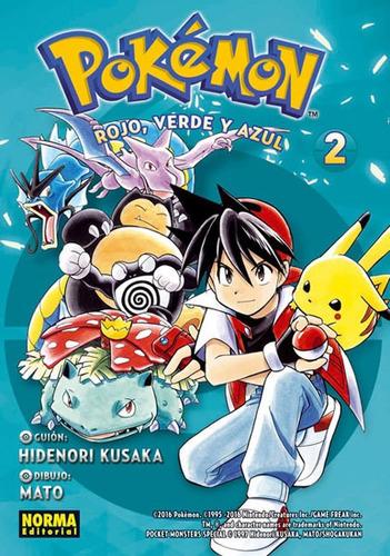 Pokémon 2. Rojo, Verde Y Azul Vol 2