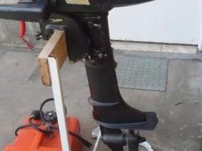 Motor Powertec 5 Hp 2t Con Tanque Aux 12 Lts