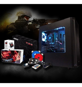 Cpu Gamer Amd 3.9ghz, 8gb, Ssd 120gb, Radeon Hd 8370d, Led