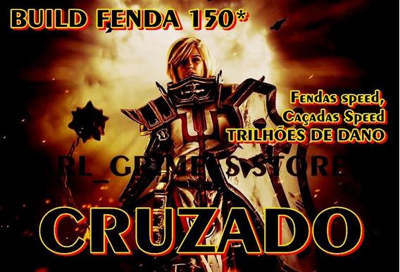 Diablo 3 - Ps4 - Build Speed Cruzado - Fenda 150*