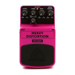 Pedal Para Guitarra Behringer Hd300 Heavy Distortion