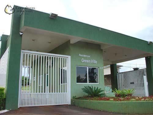 Terreno Residencial À Venda, Condomínio Green Ville, Paulínia - Te0097. - Te0097