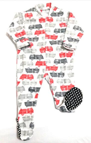 Macacão Pijama De Soft Menino, Super Quentinho