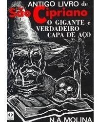 Antigo Livro De Sao Cipriano O Gigante E Verdadeiro Capa P.