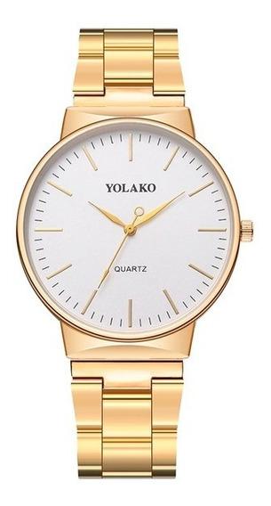 Reloj Para Mujer 2019 Análogo Roma - Dorado