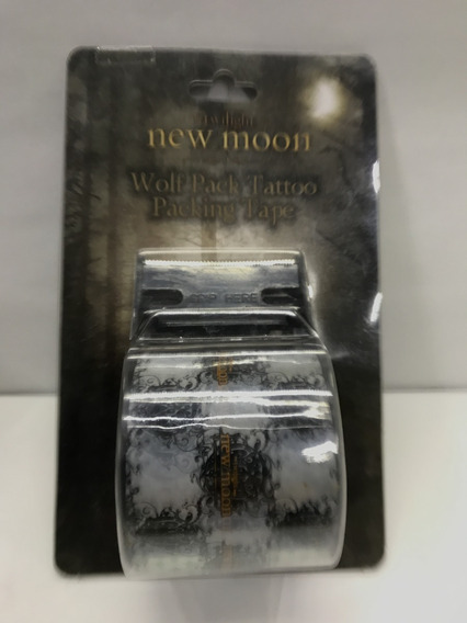 Duct Tape Twilight New Moon Con Despachador Cinta Pa Empaque