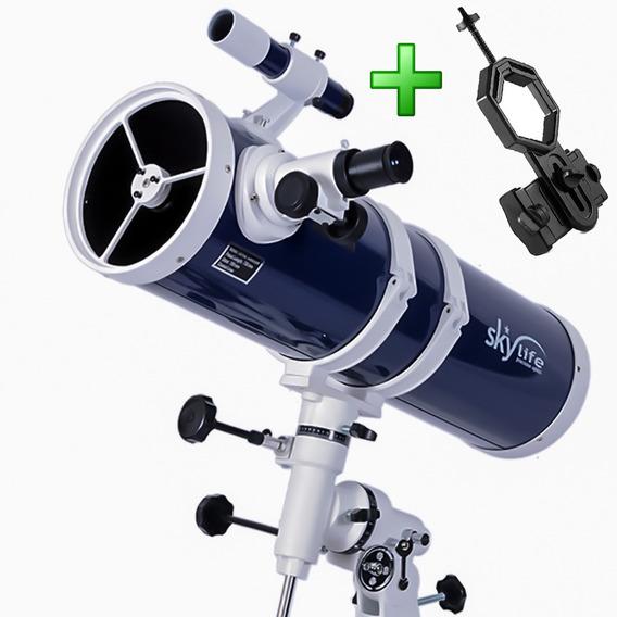 Telescópio 152mm Skylife Pandora + Adaptador Celular Adtx - Skylife Marca Especialista Em Produtos Astronômicos