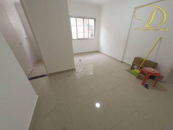 Apartamento À Venda, 45 M² Por R$ 150.000,00 - Canto Do Forte - Praia Grande/sp - Ap2820