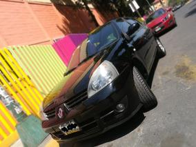 Renault Clio 2009 Expression, Negro, Excelentes Condiciones