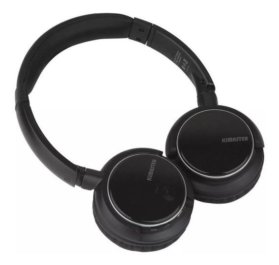 Fone De Ouvido Bluetooth Cartão Fm Celular Recarregável Top