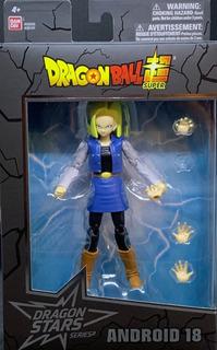 Bandai Android 18 Dragón Ball Stars Series