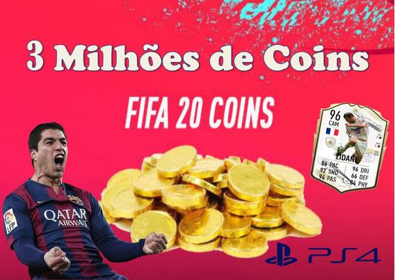 3 Milhões De Coins Fifa 20 Black Ps4