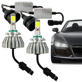 Kit Super Led Lampada Hb4 6000k 3200 Lumens Efeito Xenon