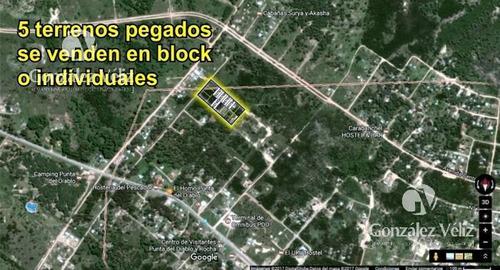 Terrenos Individual O En Block