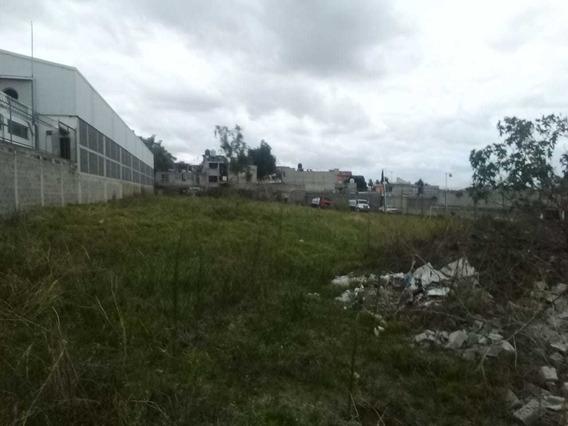 Terreno En Venta Zona Industrial Tlahuac