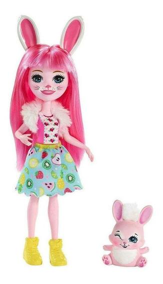 Enchantimals Boneca E Bichinho Bree Bunny - Mattel
