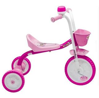 Triciclo Infantil Feminino You 3 Rodas Girl Nathor