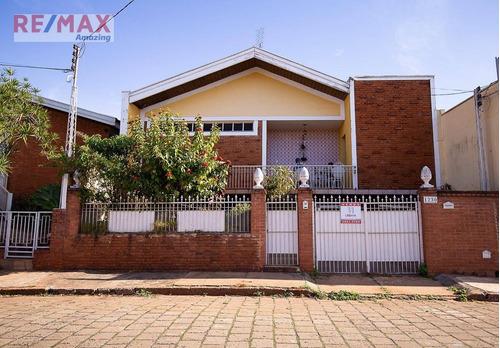 Casa Com 4 Dormitórios, 251 M² - Venda Por R$ 450.000,00 Ou Aluguel Por R$ 500,00/mês - Centro - São Manuel/sp - Ca0023