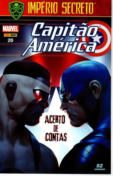 Capitao America 20 1ª Serie - Panini - Bonellihq Cx179 K18