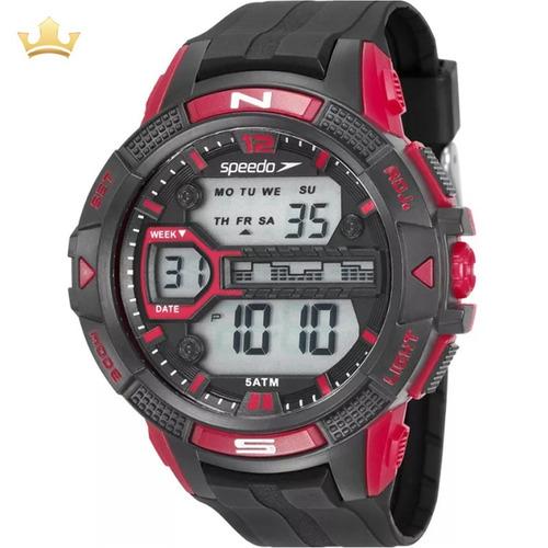 Relógio Speedo Masculino 81111g0evnp4 Com Nf